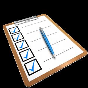 Weinkühlschrank checkliste