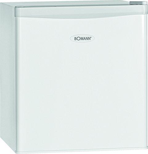 Bomann KB 389 Mini-Kühlschrank / A++ / 51 cm Höhe / 84 kWh/Jahr / regelbarer Thermostat / Kühlmittel R600a / weiß -