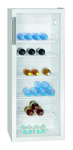 Bomann KSG 235 Flaschenkühlschrank / 142 cm Höhe / 212 kWh/Jahr / 247 Liter Kühlteil / den gewerblichen Gebrauch geeignet -