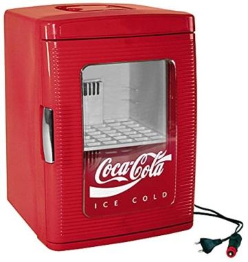 CocaCola 526430 Mini-Kühlschrank / 46 cm Höhe / rot -