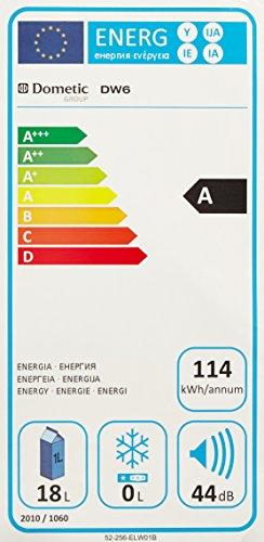 Dometic 9105330356 Dw 6 - Thermoelektrischer Getränke-Kühlschrank für 12 V DC oder 100 - 240 V AC -