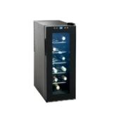 Domoclip GS107 kompakter 35 Liter Weink?hlschrank f?r 10 Flaschen (Touchpad-Bedienung, EEK B, ger?uscharm) schwarz -
