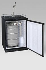 Fassbierkühlschrank bis zu 50L Fässer Exquisit BK 160 -