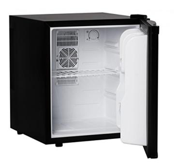 FineBuy Mini Kühlschrank 46 Liter / Minibar schwarz / Getränkekühlschrank 5° bis 15°C (EEK: A++) -