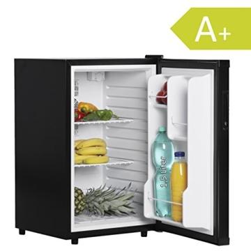 FineBuy Mini Kühlschrank 65 Liter / Minibar schwarz / Getränkekühlschrank 5° bis 15°C (EEK: A+) -
