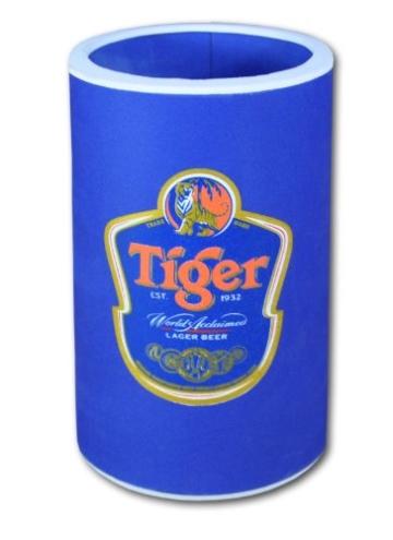 Flaschen-und Dosenkühler in verschiedenen Größen, Tiger (70233 - blau) -