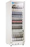 Flaschenkühlschrank mit Glastür 310 Liter Getränkekühlschrank Gewerbe Gastro -