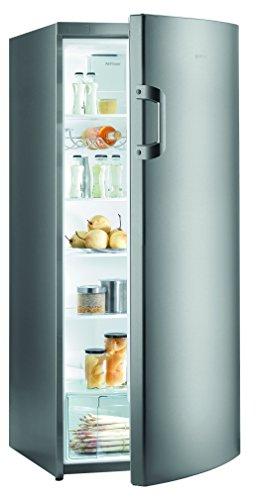 Gorenje R6152BX Kühlschrank / A++ / Höhe 145 cm / Kühlen: 302 L / Grau metallic / Umluft-Kühlsystem / 5 Glasabstellflächen -