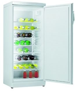 Gorenje RVC6299W Flaschenkühlschrank / Abtau-Vollautomatik   / 7 Abstellroste, davon 6 höhenverstellbar / weiß -