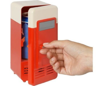 GreatGadgets 3072-1 USB Minikühlschrank (Rot) -