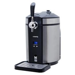 H.Koenig BW1880 Bierzapfanlage / Bierkühler für alle universal, 5 L, edelstahl -