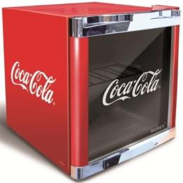 Husky Cool Cube Mini-Kühlschrank Coca Cola Design / Energieeffizienzklasse B / Nutzinhalt 50l -