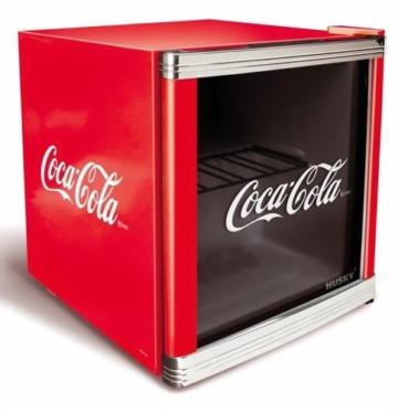 Husky HUS-CC 165 Flaschenkühlschrank Coca-Cola / A / 51 cm Höhe / 84 kWh/Jahr / 50 L Kühlteil -
