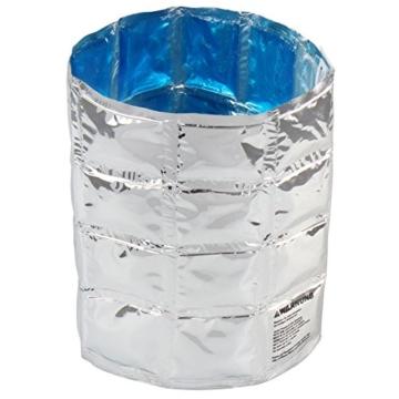Jago 2 Kühlmanschetten Flaschenkühler Dosenkühler zum kühlen ihrer Getränke immer wieder verwendbar mit Klettverschluss -