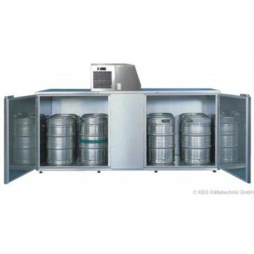 KBS Fasskühler-Gehäuse Fk 10 - für 10 Fässer - ohne Maschinenaufsatz -