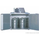 KBS Fasskühler-Gehäuse Fk 4 - für 4 Fässer - ohne Maschinenaufsatz -