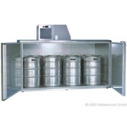 KBS Fasskühler-Gehäuse Fk 8 - für 8 Fässer - ohne Maschinenaufsatz -