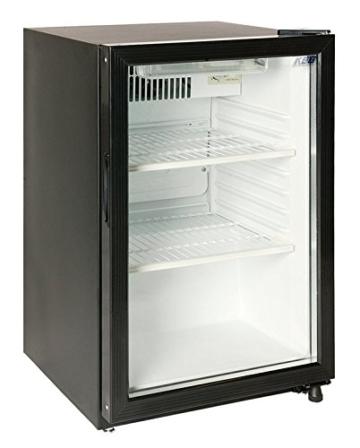 KBS Glastürkühlschrank KUG 110 Kühlschrank 100 l Umluft -