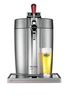Krups vb700e00Maschine Bierglas Beertender Loft Edition Silber/Chrom -