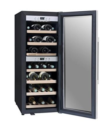 Weinkühlschrank und Weinklimaschrank