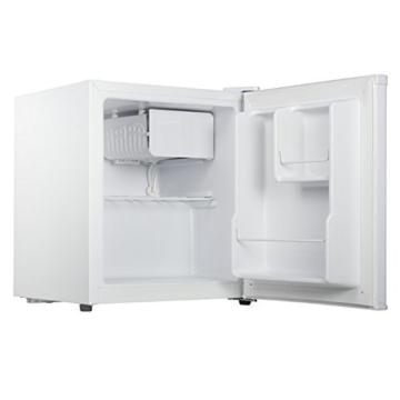 Leistungsfähiger Kühlschrank, 45Liter inklusive 5Liter Gefrierfach, Energieeffizienzklasse A+, weiß -