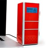 LEORX Portable Mini USB Kühlschrank Kühlschrank Eisschrank USB können Kühler Thermobox Kühlschrank Kühler -