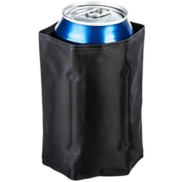Levivo Kühlmanschette CD07 – Dosenkühler im Taschenformat mit 5 Gelkammern und Klettverschluss, Größe ca. 28 x 12 cm -