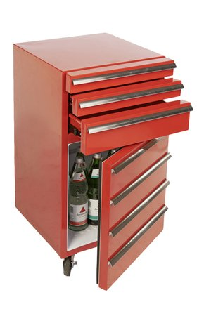 werkstattwagen k hlschrank rot gastro cool kaufberatung angebote. Black Bedroom Furniture Sets. Home Design Ideas