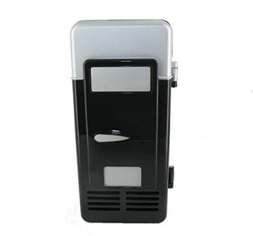 Mini USB Kühlschrank 2.0 Minikühlschrank Kühlbox Dosenkühler mit Tassenwärmer -