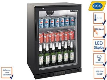 Vintage Industries Kühlschrank Test : ᐅ profi flaschenkühlschrank ggg lg 138 ᐅ kaufberatung angebote