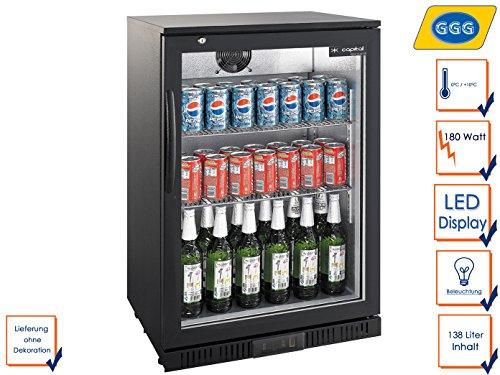 Kleiner Kühlschrank Abschließbar : ᐅ profi flaschenkühlschrank ggg lg 138 ᐅ kaufberatung angebote