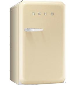Smeg FAB10HLP Stand Flaschenkühlschrank Creme Beige Getränkekühler Retro A+ -
