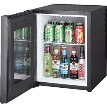 ᐅ Lautloser 52 Liter Mini Kühlschrank mit Glastür ᐅ Kaufberatung ...