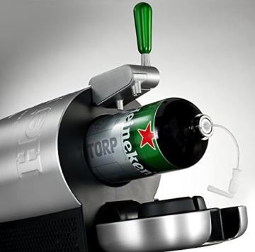 THE SUB Heineken Edition, Krups VB650E10, Luxus-Design von Marc Newson. Genießen Sie zu Hause Premium-Fassbier, Fassbiere aus der ganzen Welt, Extrakühl bei 2° C serviert -