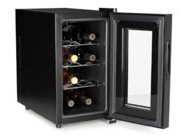 Tristar WR-7508 Weinkühlschrank / 57 cm Höhe / 8 Flaschen / Sehr geringe Vibration -
