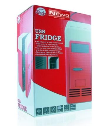 USB Mini Retro Kühlschrank -