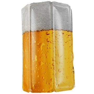 """Vacu Vin - 38549606 Aktiv Kühler Motiv Bier """"Lager"""" 0,3-0,5l -"""