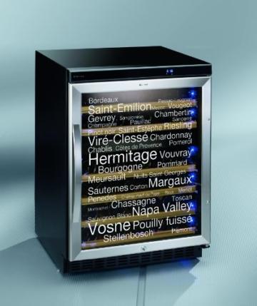 Weinkühlschrank Dometic 9103500449 B / 86.5 cm Höhe / 201 kWh/Jahr / Der Dometic D50 bietet zwei Temperaturzonen, individuell regelbar im Temperaturbereich von 5 °C bis 22 °C. / schwarz / 46 Flaschen -