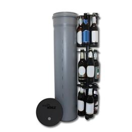 HopfenHöhle LIFT: Outdoor Erdloch Bierkühler mit integriertem halbautomatischem Hebesystem, Bar-Gadget, Bier-Geschenk -