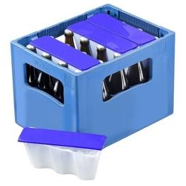 Bierkastenkühler / Bierkühler 4er Set (blau) -