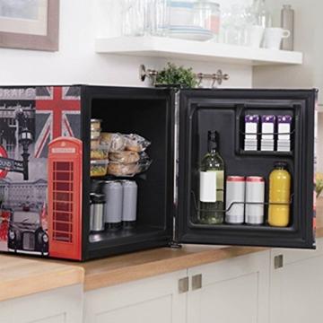 Husky Minikühlschrank Kühlbox Minibar Kühlschrank EEK A+ 42,9 L KK50-OXFORD -