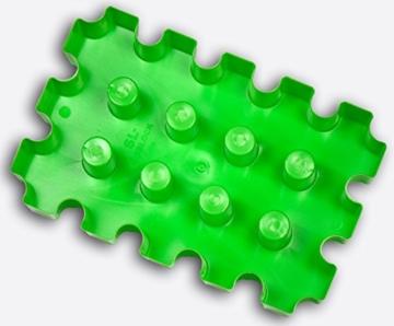 SL-Eisblock - Bierkühler, neon-grün, Getränkekühler für 0,33 Liter Flaschen der sl-EISBLOCK Bierkastenkühler ist MADE IN GERMANY (neon - grün) -
