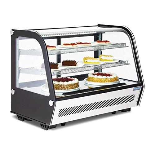 Kühlvitrine Kuchenvitrine Tischmodell 160L - 1