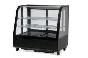 Saro Katrin Tisch-Kühlvitrine/67.5 cm/741 kWh/Jahr/100 L Kühlteil/100 L Gefrierteil/schwarz - 1