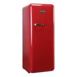 Vintage Industries ~ Retro-Kühlschrank Havanna 2017 in rot | 50er Jahre Look | Größe 152,5 cm | Kühl-Gefrier-Kombination 305l | Getränke-Kühlschrank mit Gefrierfach / Gefrierschrank 25l - 1