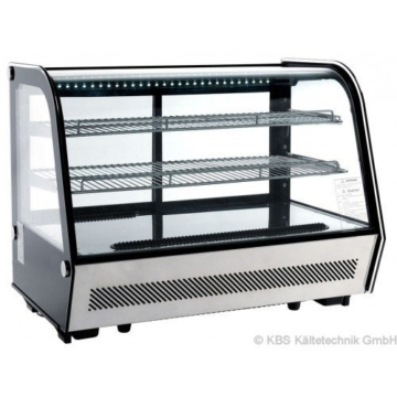 KBS Aufsatzkühlvitrine ASV 88 - Tischkühlvitrine mit LED Beleuchtung - 1