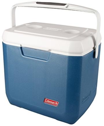 Coleman passive Kühlbox 28Qt Xtreme, Hochleistungskühlbox, kühlt bis zu 3 Tage, Thermobox mit 26 L Fassungsvermögen, mobile passiv Kühlbox mit stabilem Tragegriff - 1