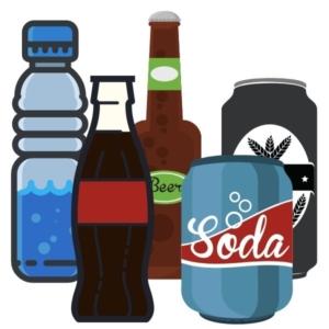 Was kann man alles in einem schmalen Getränkekühlschrank kühlen?