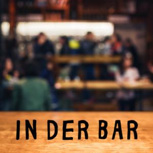 Getränkekühlschrank mit 2 Türen in der Bar
